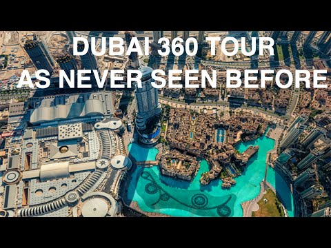 Dubai 360° Virtual Tour 2019 (Let me take you WITH ME!!!!) | Salonia