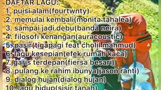 kumpulan lagu buat mendaki gunung