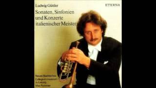 Alessandro Stradella Sinfonia avanti il Barcheggio for Trumpet, Strings and B.c., Ludwig Guttler
