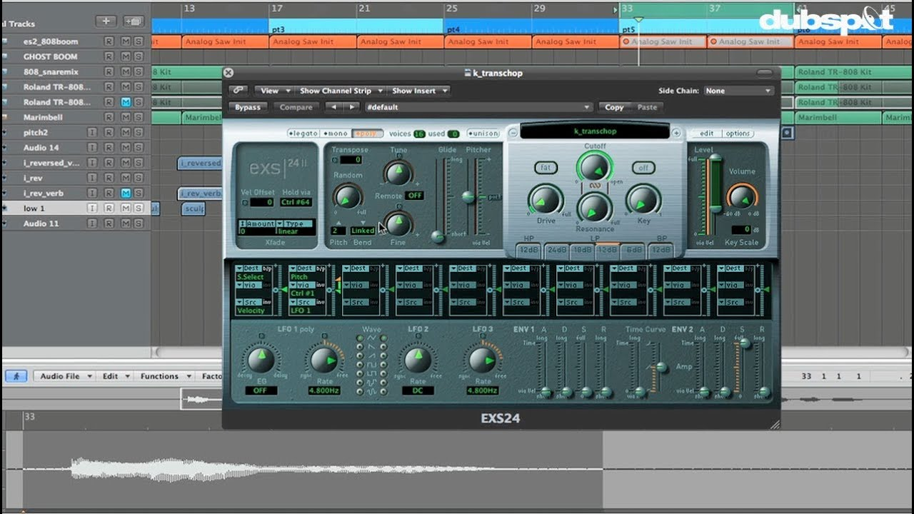 how to add a fade out in logic pro