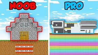 Minecraft NOOB vs. PRO: SECRET TNT TRAP in Minecraft! (Animation)