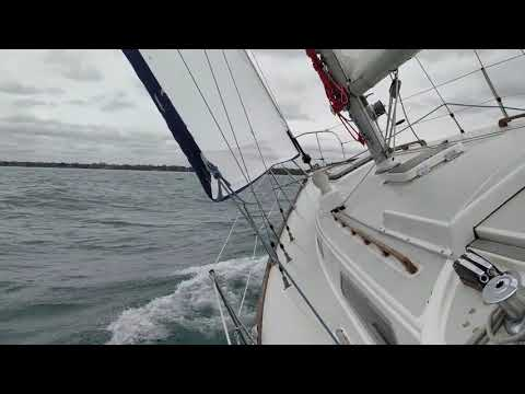 Late season sailing
