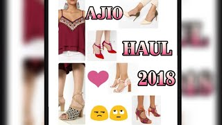 AJIO HAUL ! AFFORDABLE SALE SHOPPING! FOOTWEAR HAUL