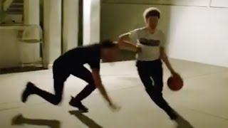 Lonzo Ball Gets CROSSED UP by Little Brother LaMelo in 1-on-1 Game