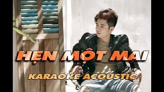 [Karaoke] | Hẹn một mai | Bùi Anh Tuấn | Beat Acoustic