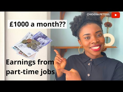 How Much Can You Earn As An International Student In The UK? My Earnings From Part-time Jobs