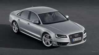 Автомобиль Audi S8 2013 первый взгляд