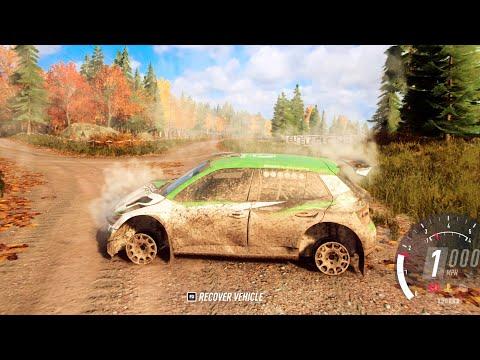 Skoda Fabia R5 Accident - DIRT Rally 2.0 Gameplay  