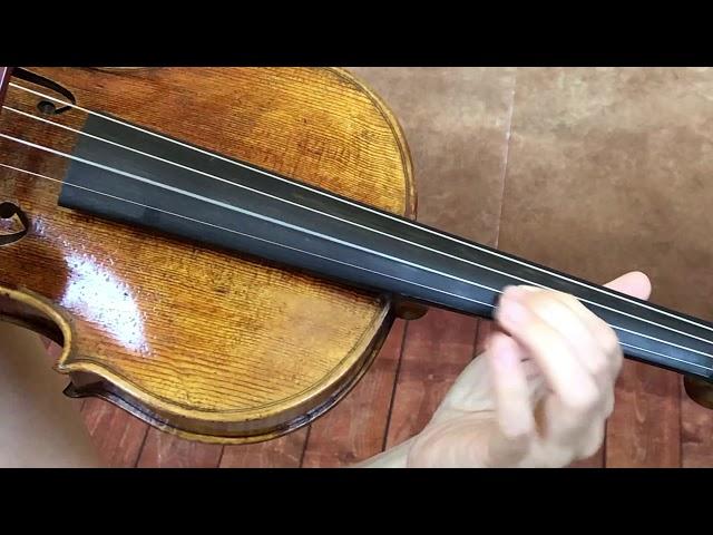 Ifstrings Master Build #012 Guarneri del Gesu 1743