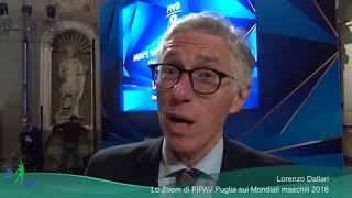 30-11-2017: #fivbmenswch - I commenti sui sorteggi dei mondiali maschili 2018. Pool C a Bari.