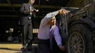 偽装事故を交通事故鑑定人が暴く。
