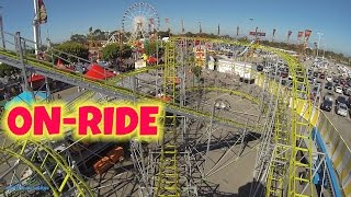 Galaxy Coaster On-ride Front Seat (HD POV) RCS Midway Orange County Fair