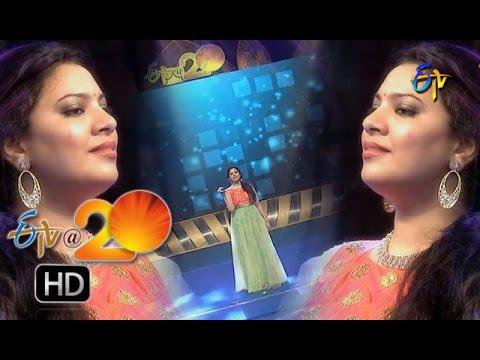 Geetha Madhuri Performance - Magallu Vatti Maayagalle Song in Chilakaluripet ETV @ 20 Celebrations
