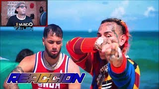 BEBE - 6ix9ine Ft. Anuel AA (Prod. By Ronny J) (Official Music Video) - Reaccion