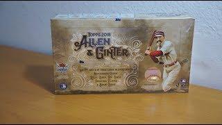 2018 Topps Allen & Ginter - 1 box break!