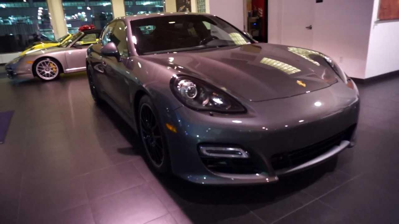 Panamera Gts 2019 >> 2013 Porsche Panamera GTS Agate Grey with Carmine Red Alcantara Interior in Beverly Hills SOLD ...