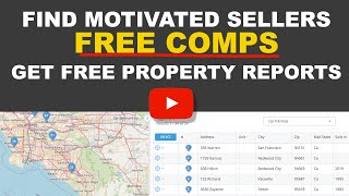 How to get Free Comps & property details at GoBig Printing & Title ToolBox