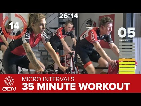 Fast Fitness Workout - High Intensity 35 Minute Indoor Cycling Training