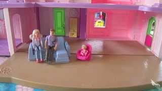Putting Together the Fisher Price Loving Family Dollhouse