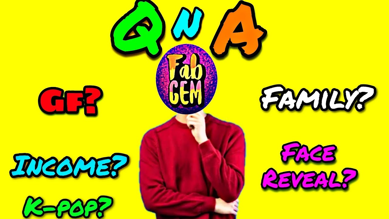 Face Reveal!? GF!? Income!? Family!? 30K Special QnA 🥳