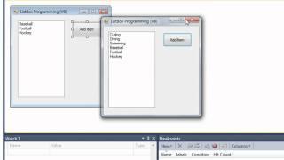 06f listbox programming