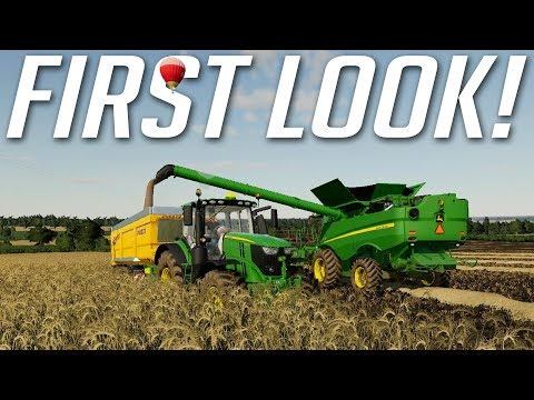 FIRST LOOK! | Farming Simulator 19 | PS4 Gameplay
