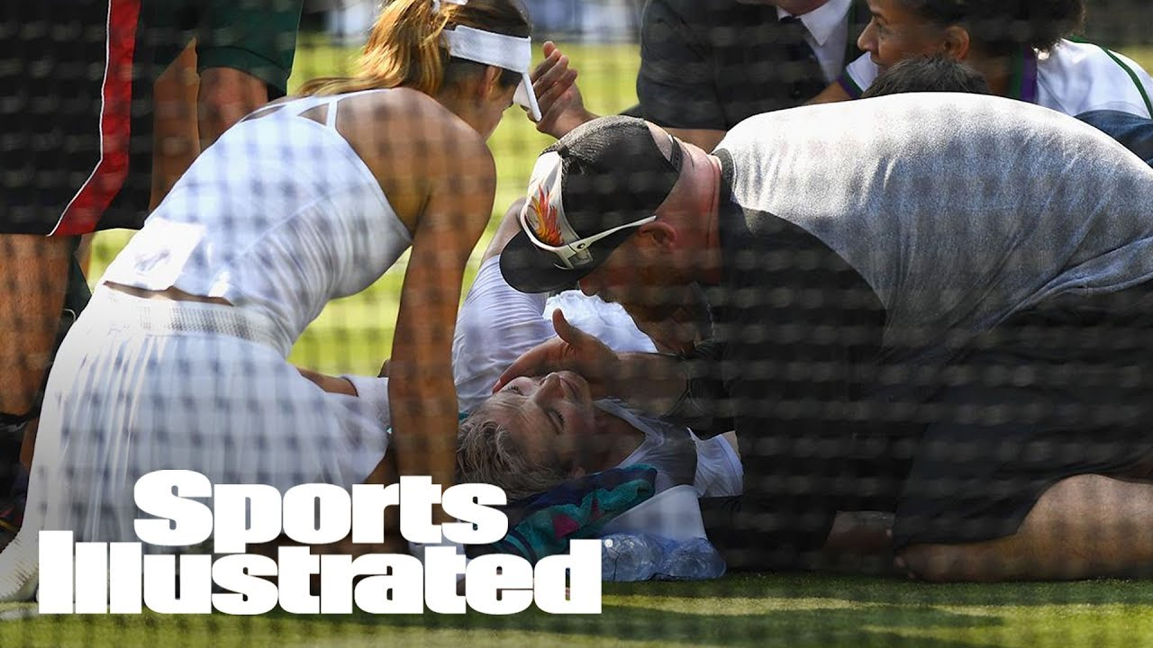 Serious Knee Injury Ends Bethanie Mattek-Sands's Wimbledon