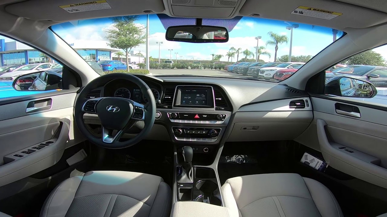 2018 Hyundai Sonata Sel Interior St 667656
