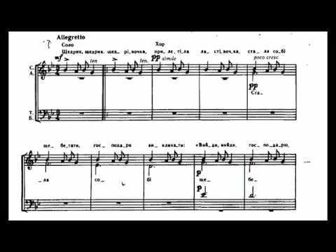 Leontovych -  Shchedryk