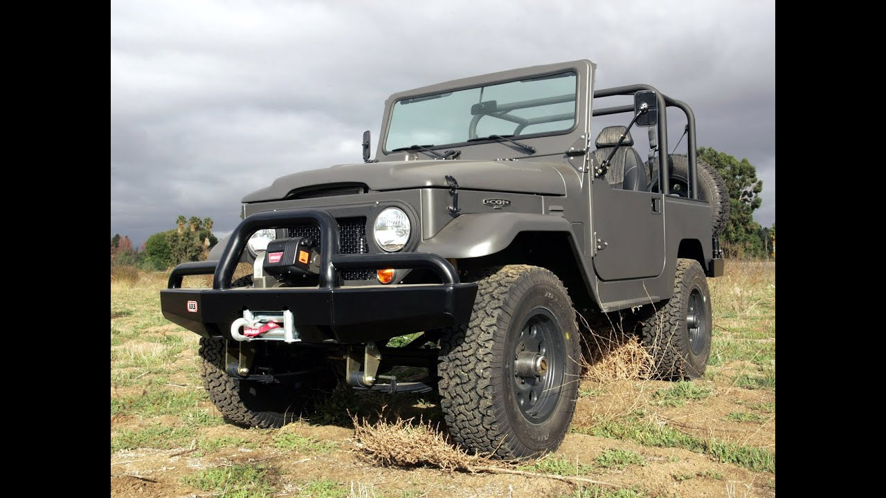 toyota fj40 land cruiser by icon 4x4 youtube. Black Bedroom Furniture Sets. Home Design Ideas
