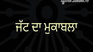 JATT DA MUQABLA Whatsapp Status s Sidhu moose wala Status