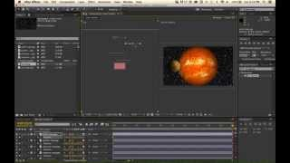 After Effects - 10 Minute Solar System Tutorial
