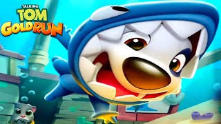 Talking Tom Gold Run - Talking Tom New Character Shark Hank (Talking Tom and Friends By Outfit)