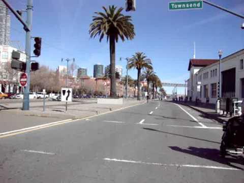 Skateboarding Sunday Streets Embarcadero Road