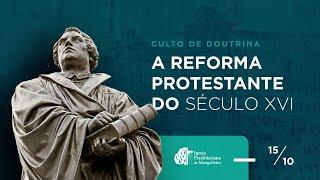 Culto de Doutrina - Igreja Presbiteriana de Mangabeira - 15/10/2020