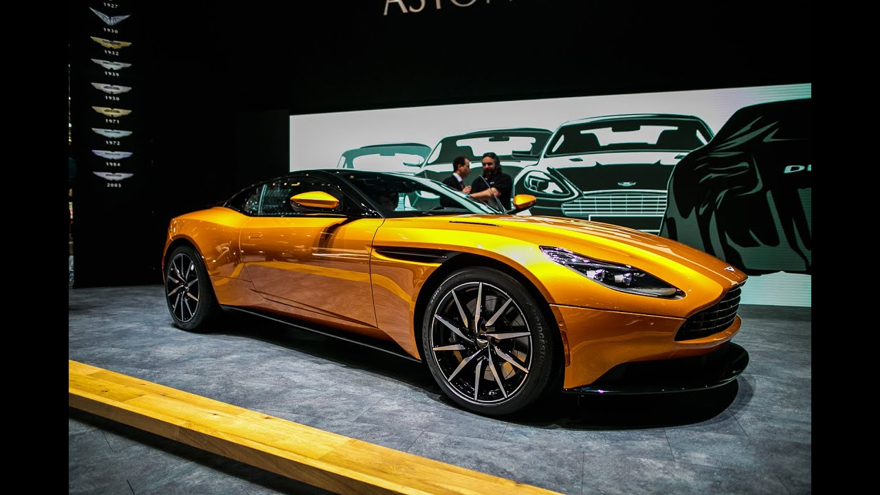 2017 Aston Martin DB11 First Look