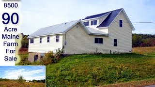 Maine Real Estate Listing, Farm And Home Property | MOOERS REALTY #8500