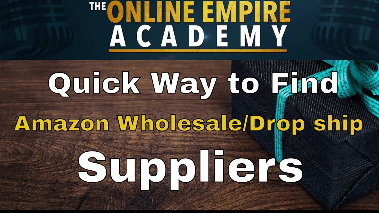 Wholesalers That Dropship