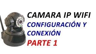 Configurar Camara IP Wifi Parte 1: Conectar a PC Computadora por la Red Lan con Router