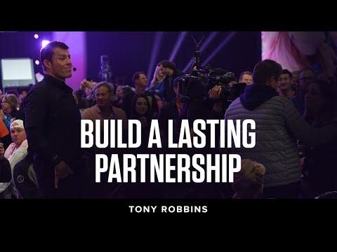 Build a lasting partnership | Tony Robins Podcast