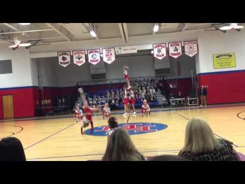 Poca High School Cheerleaders 2015