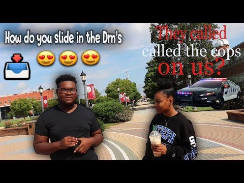 Asking College Girls How To Slide In The Dm [Public Interview]
