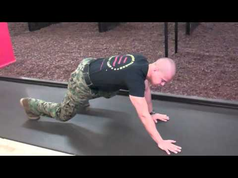 Warrior Fitness Boot Camp NYC 1 Minute workout - The Bear Crawl