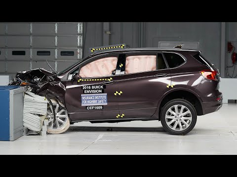 2016 Buick Envision Moderate Overlap IIHS Crash Test