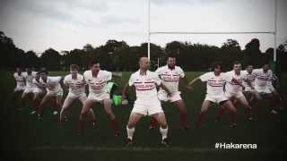 Matt Dawson and England rugby stars in hilarious version of Haka
