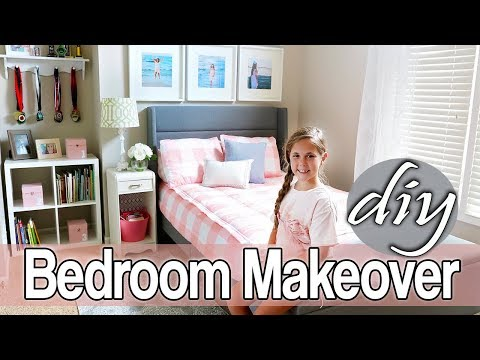 Extreme Bedroom Makeover 🌟 Girls Room Remodel Decorating on a Budget