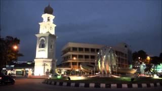 Queen Victoria Memorial Clock Tower, George Town, Penang, Malaysia, Jan 23, 2014