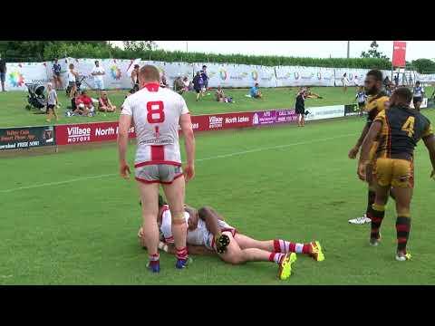 England Lions u23s 14-0 Papua New Guinea u23s - 24/02/18