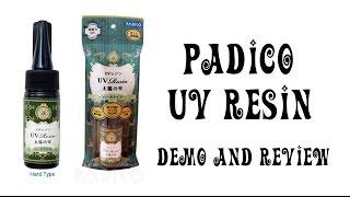 Padico UV Resin: Demo and Review