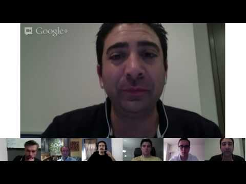 LeWeb Google+ Hangout with Anthony Gallippi